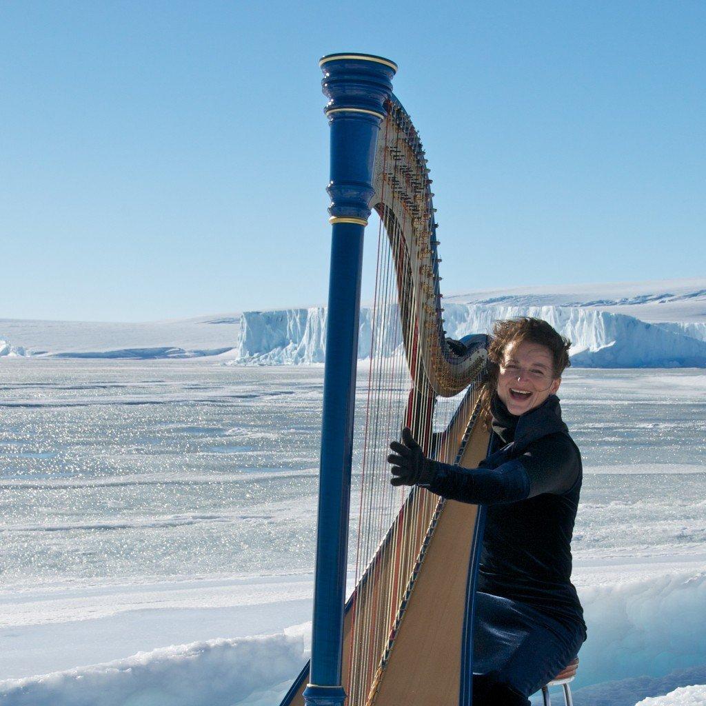 Alice Giles on ice