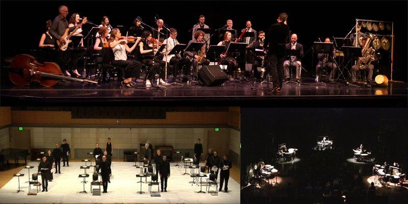 SFCMP in concert 2019, 2018, 2016